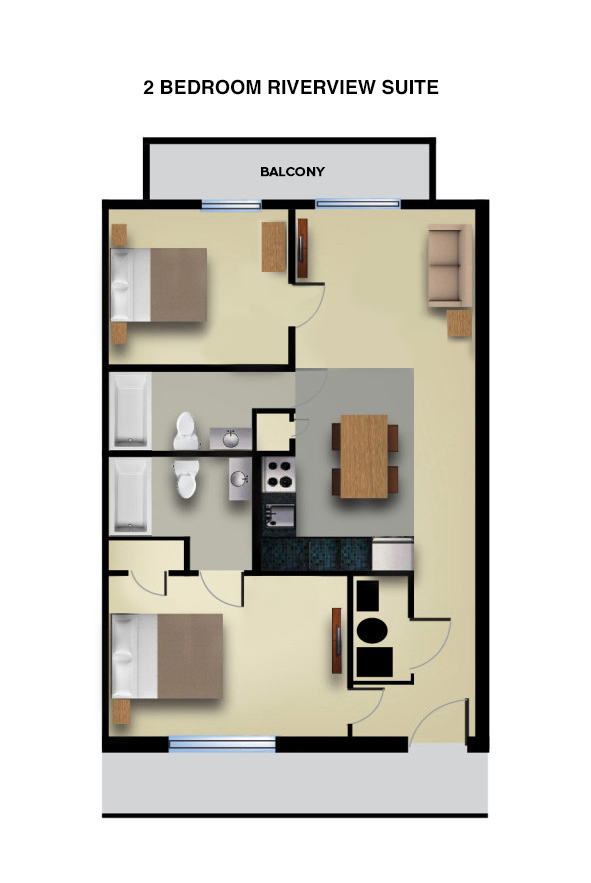 2 Bedroom Suite Mandalay Bay: 2 Bedroom Suite With Riverview Balcony
